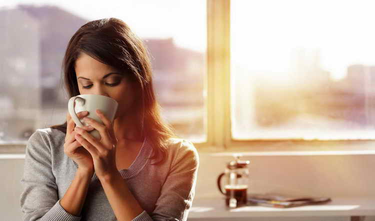 как понизить давление в домашних условиях кофе