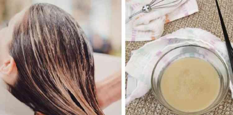 Маска для волос на дрожжах