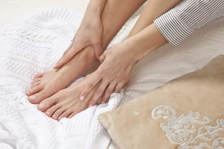 ванночка для ног с перекисью и содой