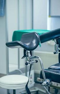 Гинекологический стул для осмотра пациентки