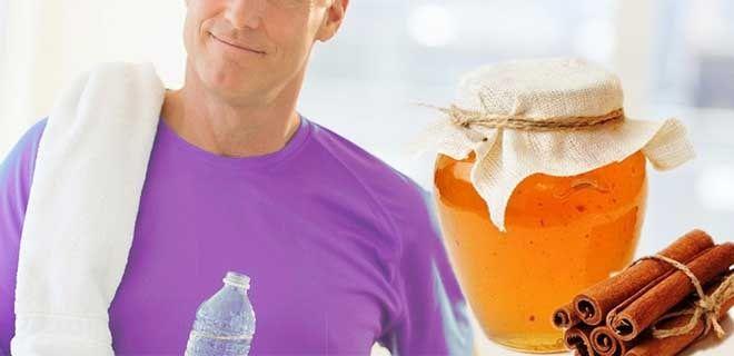 Корица с медом для мужчин