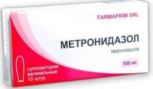 Свечи и таблетки Метронидазол