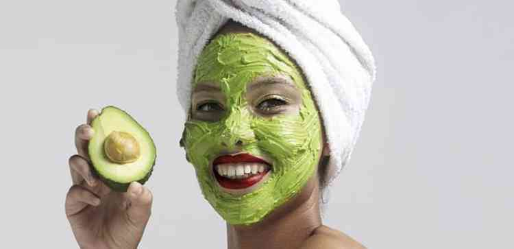 Маска для лица из авокадо
