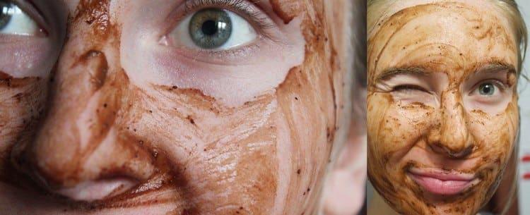 маски помогают также устранить купероз.
