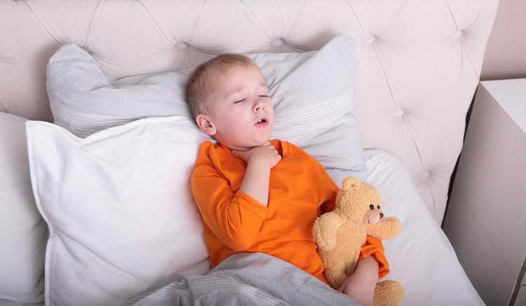 лечение сухого кашля у детей народными