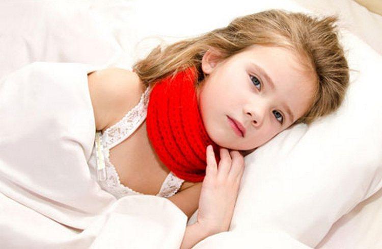 Очень важно на период лечения обеспечить малышу постельный режим.