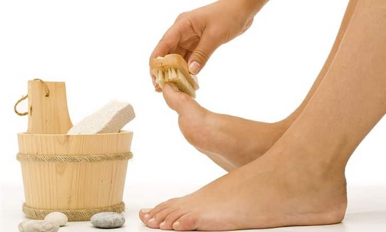 Как делается ванночка для ног с перекисью и содой