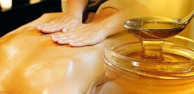 Похудение медовым массажем