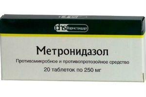 Как принимать Метронидазол при геморрое