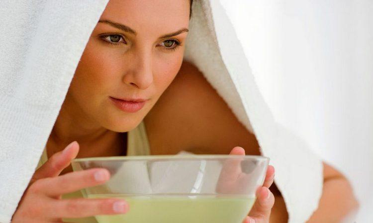 Перед применением масок желательно распарить кожу.