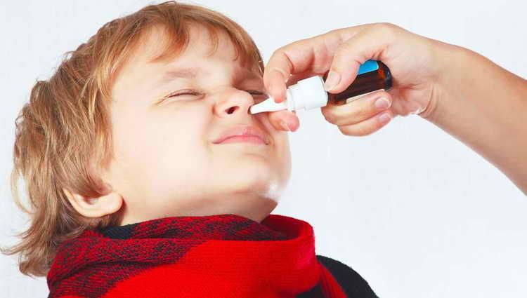 Закапывание носа при аденоидах