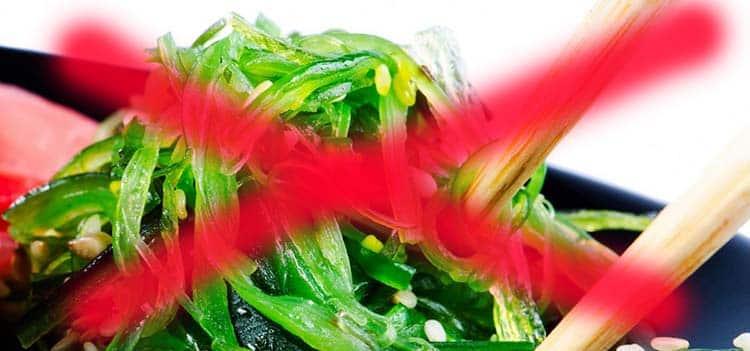Противопоказания к употреблению морской капусты