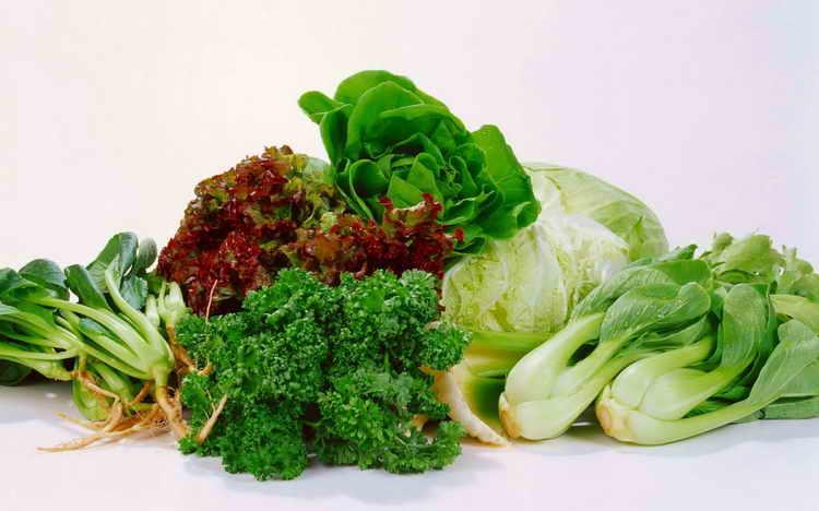 Листовые овощи для печени