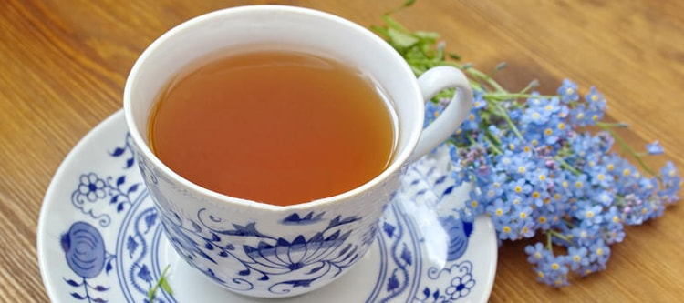 Полезный чай из незабудки