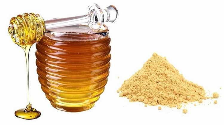 Мед и горчица от боли в коленях