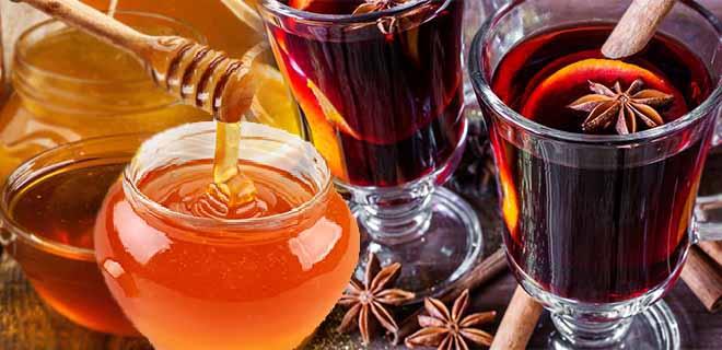 Вино с медом (глинтвейн)