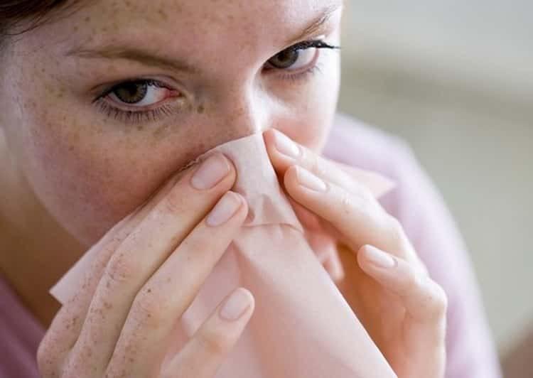 сухость в носу и кровяные корки причины