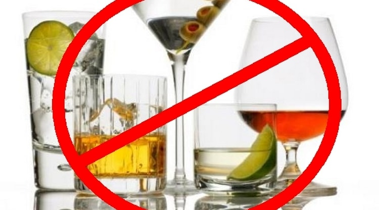 Диета при остром панкреатите подразумевает полный отказ от алкоголя.