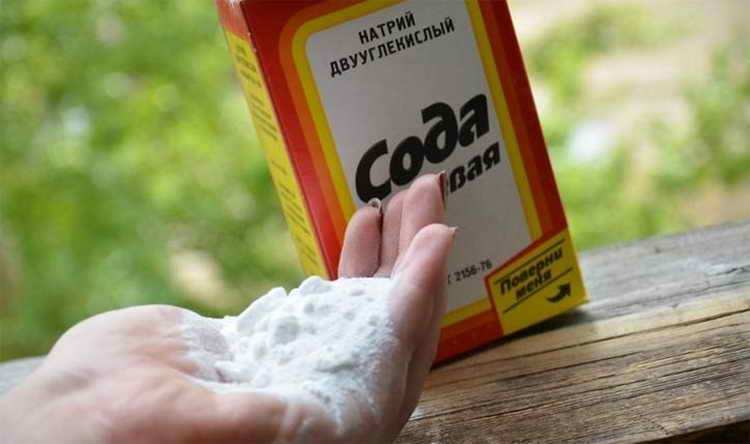 Содовый антиперспирант от запаха ног