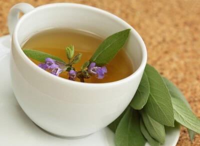 Травяной чай на основе шалфея