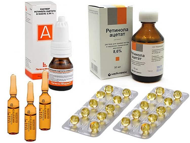 Дополнительно можно использовать аптечные препараты, например, витамины А и Е.