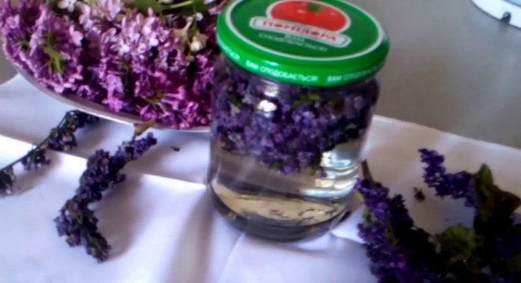 Полезно также принимать настойку цветков сирени.