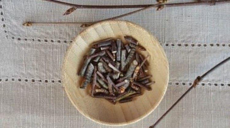 Для лечения зудящих дерматозов применяют отвар березовых почек.