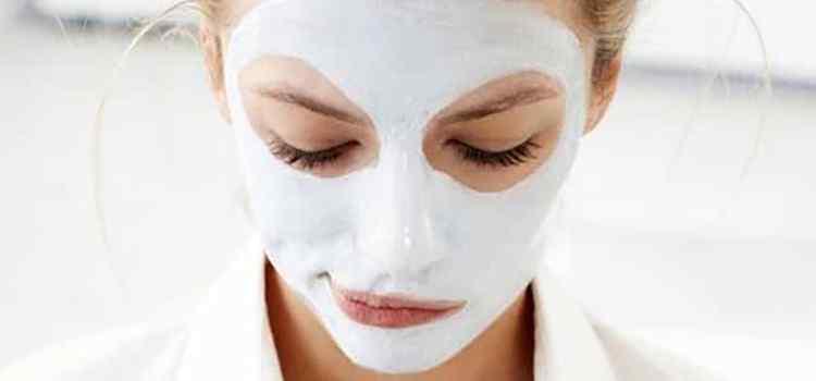 Шафран в виде маски для лица