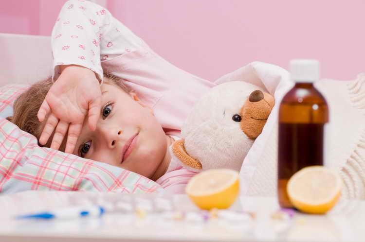 лечение насморка у детей