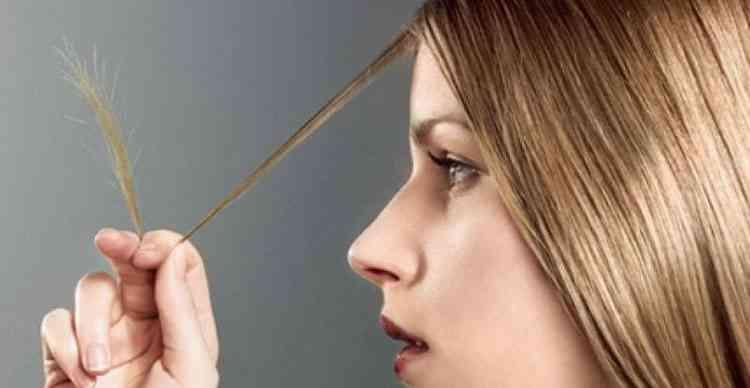 Маска для волос с сухими кончиками