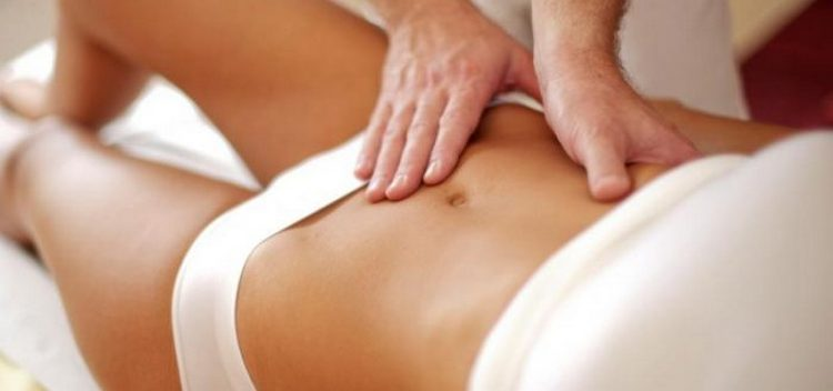 С маслом ванили можно также делать массаж живота.