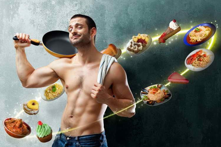 Какие продукты следует исключить при мужской диете