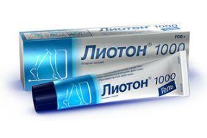 Как лечить геморрой гелем Лиотон