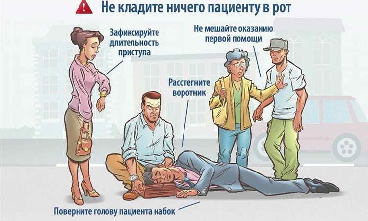 приступ эпилепсии лечение