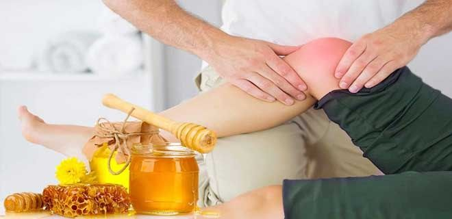 Лечение суставов медом