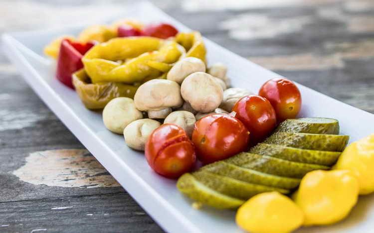 маринованные овощи при диабете