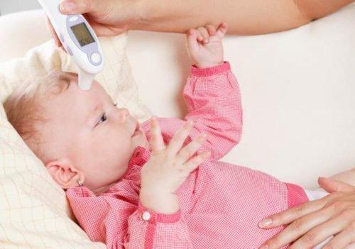 Повышение температуры у младенца
