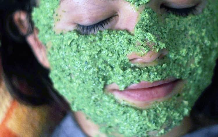 В косметологии растение используется для приготовления масок для лица, а также полосканий для волос.