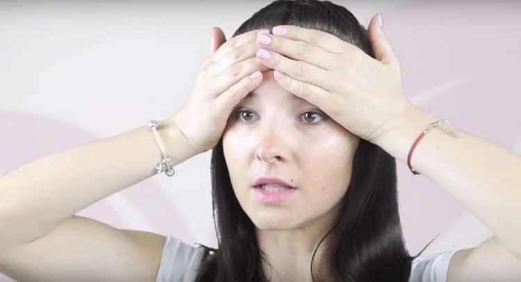 гимнастика для лица от морщин: видео