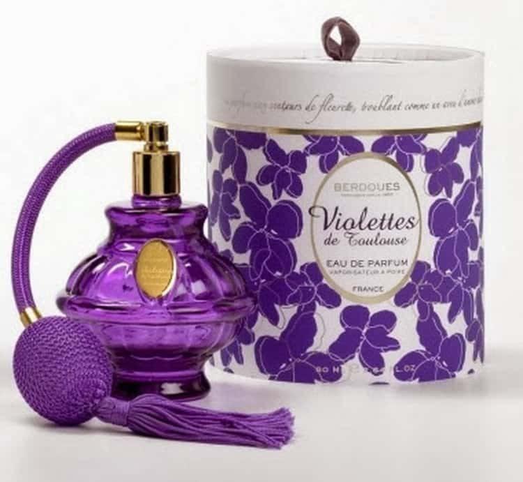 можно ли делать из фиалки парфюмерию