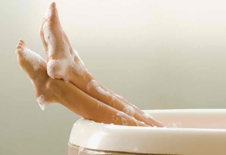 как почистить почки ванной