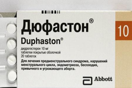 Дюфастон при кистозных новообразованиях