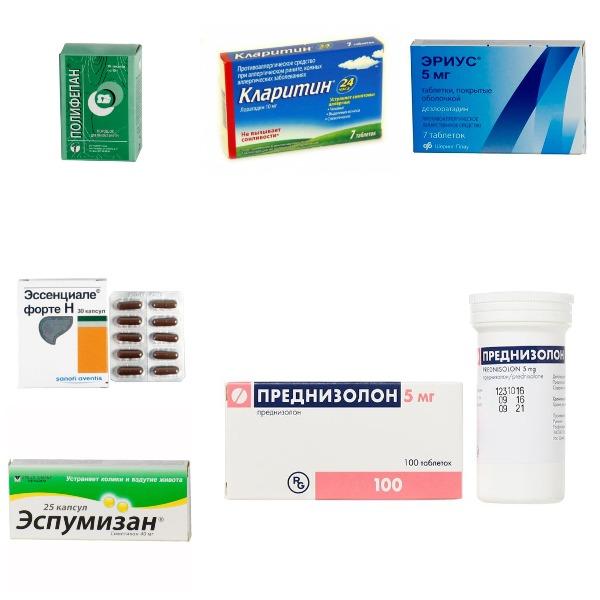 Вспомогательные препараты для лечения гастрита