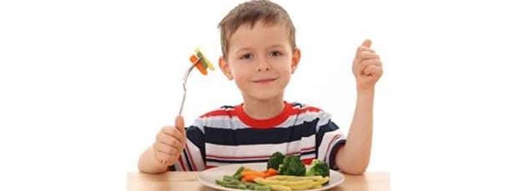 Зеленый лук способствует аппетиту детей