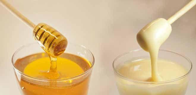 Липовый мед (свежий и засахаренный)