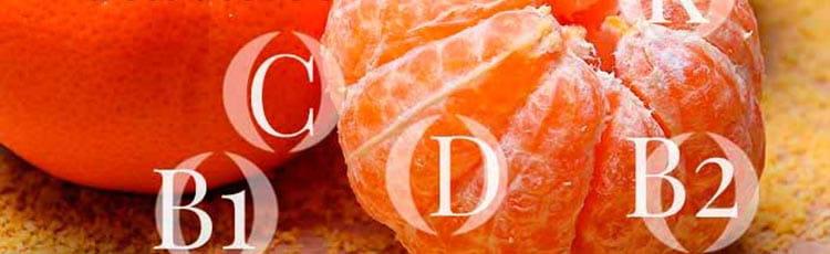 Полезность мандаринов и его витаминов