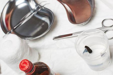 Лечение пиявками органов малого таза