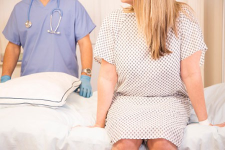 Лечение пациентки в больнице