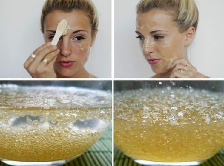 Маска из желатина для лица т морщин это действительно очень эффективное средство, которое легко можно приготовить в домашних условиях.
