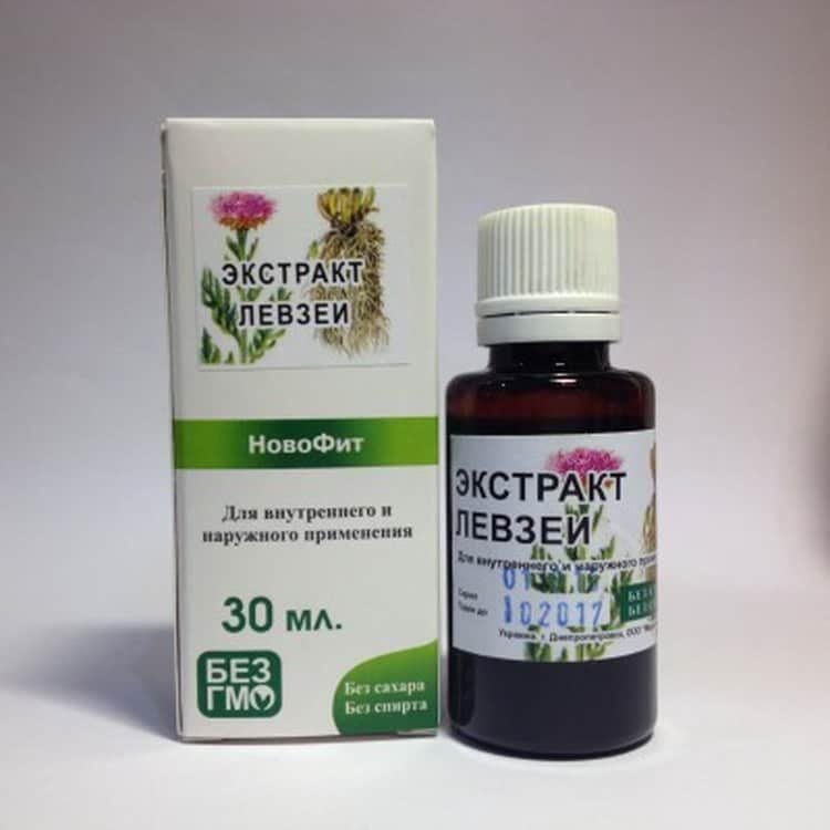 левзея сафлоровидная: лечебные свойства